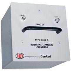 Condensadores estándar primarios de la serie GenRad 1404