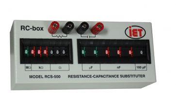 Caja de resistencia y capacitancia de la serie RCS