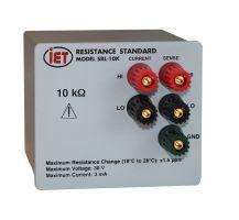 Estándar de resistencia de precisión SRL-10K